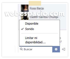aparecer desconectado chat facebook