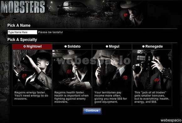juego mobster en hi5