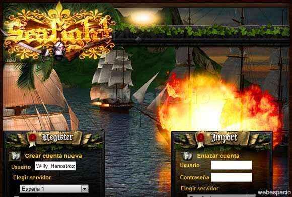 juego seafight en hi5