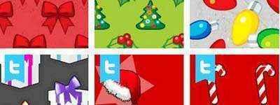 fondos twitter navidad