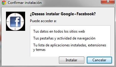 Google plus permiso