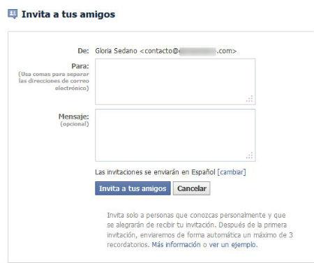 invita amigos facebook