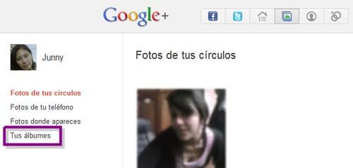 editar fotos en google plus