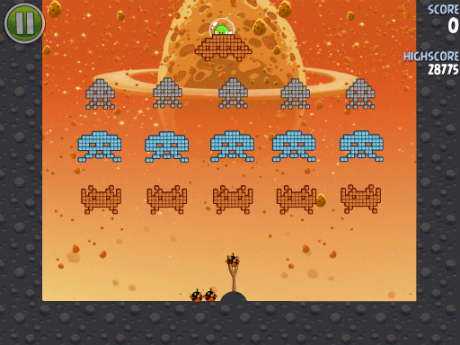 Descarga Angry Birds Space