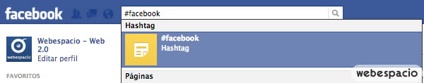 buscar hashtag facebook
