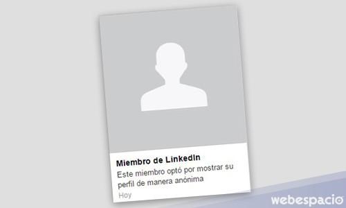Cómo ver perfiles de LinkedIn anónimamente