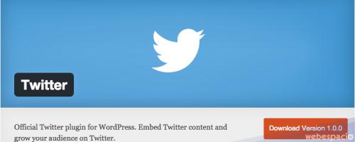 Twitter lanzó su plugin oficial para WordPress