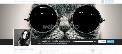 Guía para subir fotos o imágenes de portada en Twitter
