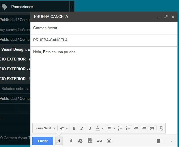 enviar correo gmail
